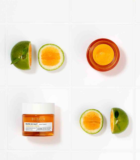 GREEN MANDARIN GLOW NIGHT BALM